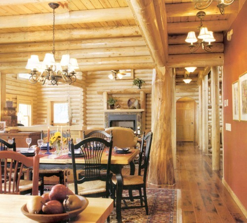 Jojac Log Homes Featured In Log Homes Illustrated Sept 2006